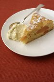 Quince Batter Cake: Tall View