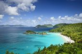 St. John, US Virgin Islands at Trunk Bay.