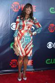 LOS ANGELES - JUL 17:  Aisha Tyler at the CBS TCA July 2014 Party at the Pacific Design Center on Ju