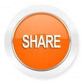 share orange computer icon