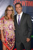 LOS ANGELES - JUL 17:  Jennifer Berman, Jim Sears at the CBS TCA July 2014 Party at the Pacific Desi