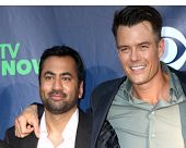LOS ANGELES - JUL 17:  Kal Penn, Josh Duhamel at the CBS TCA July 2014 Party at the Pacific Design C