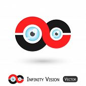 Infinity Vision ( Infinity Sign And Eyeball )