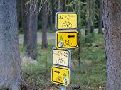 Marked Hiking Trails, Cycling, Southern Bohemia