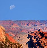 Grand Canyon Moon