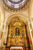 Basilica Dome Mary Baby Statue Santa Iglesia Collegiata De San Isidro Madrid Spain