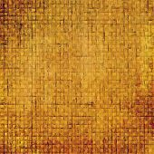 Antique grunge background with space for text or image. With different color patterns: yellow; brown; orange; beige