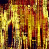 Old designed texture as abstract grunge background. With different color patterns: yellow; brown; orange; blue