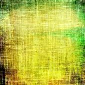 Art grunge vintage textured background. With different color patterns: yellow; brown; green; beige