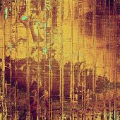 Abstract grunge textured background. With different color patterns: purple (violet); brown; yellow
