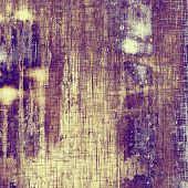 Old grunge antique texture. With different color patterns: blue; purple (violet); brown; yellow