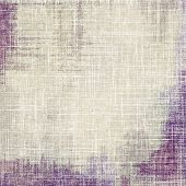 Weathered and distressed grunge background with different color patterns: gray; purple (violet); brown