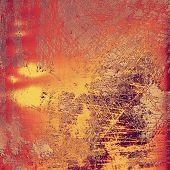 Art grunge vintage textured background. With different color patterns: purple (violet); orange; brown; yellow
