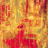 Art grunge vintage textured background. With different color patterns: red; orange; brown; yellow
