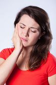 Girl With Tooth Pain