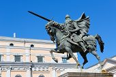 El Cid Statue In Burgos, Spain