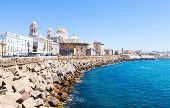 Sunny Day In Cadiz - Spain