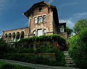 stock photo of vinnitsa  - The mysterious house on the hill of Vinnitsa - JPG