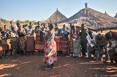 African Villagers, Mikuni, Zambia