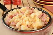 Home Fried Potatoes Wiht Ham