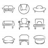 sofa icons