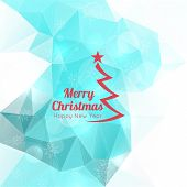 Modern winter abstract background