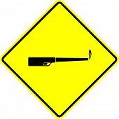 torch lighter sign