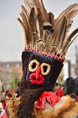Romanian traditional mask for the new year