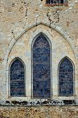 Romanesque church window