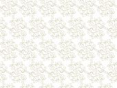 Elegant Seamless Pattern of Floral Vintage or CLassic Vines