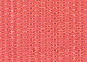 Pink Fabric Texture Regular Pattern