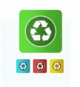 Illustration  Recycle Icon