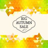 Big autumn sale.