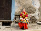 Traditional Sardinian Costume