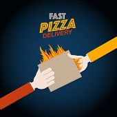 Fast pizza delivery design