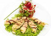 Shrimp Tempura Salad