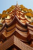 Abstract Of Stupa Building