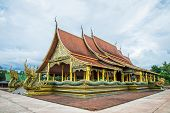 pic of northeast  - Buddhist temple in the Northeast of Thailand - JPG