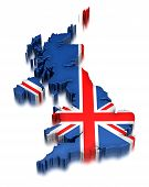 United Kingdom  (clipping path included)