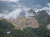 Machu Picchu Distant View