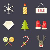 9 Christmas Icons Set 7