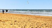 The Beautiful Beach In Arabian Country (picture Made In Agadir, Morocco)