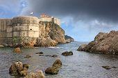 The Fortress Walls Of Dubrovnik, Croatia