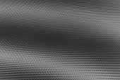Gray Wavy Ribbed 3D Material Texture