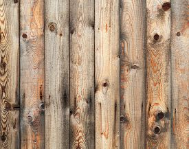 stock photo of uncolored  - Uncolored vintage wooden wall background photo texture - JPG