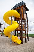 stock photo of chute  - a children - JPG