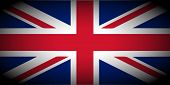 stock photo of jacking  - vignetted flag of the UK aka Union Jack - JPG