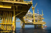 picture of offshore  - Offshore oil and gas production and exploration business - JPG