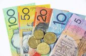 stock photo of year end sale  - Australian Money concept for savings spending or 30th June End of Financial Year sale. ** Note: Shallow depth of field - JPG