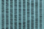 pic of indigo  - vertical texture of striped fabric of indigo color for empty and pure abstract backgrounds - JPG